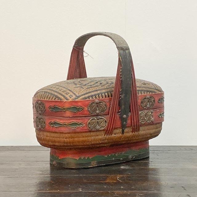 Unique finely woven basket