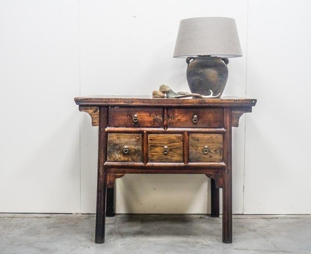 Elegant antique console