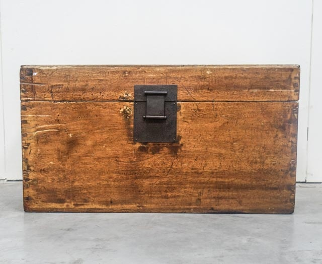 Old camphor chest