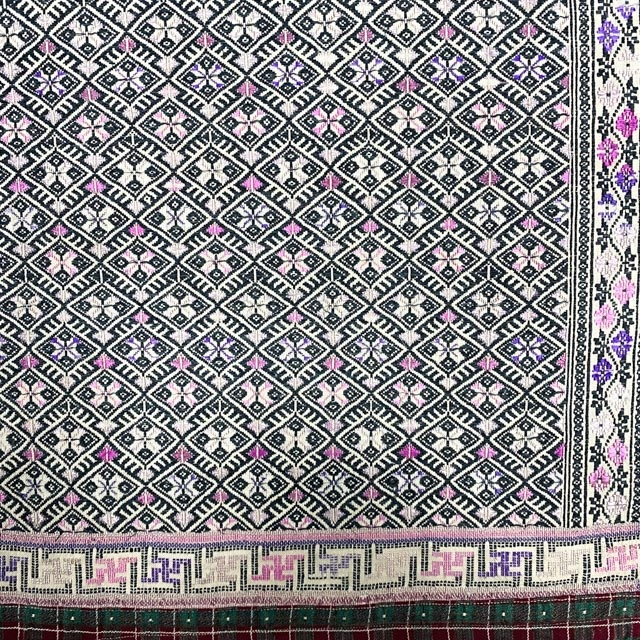 Authentic, old textile