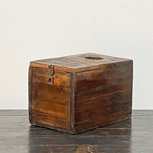Authentic old money box.