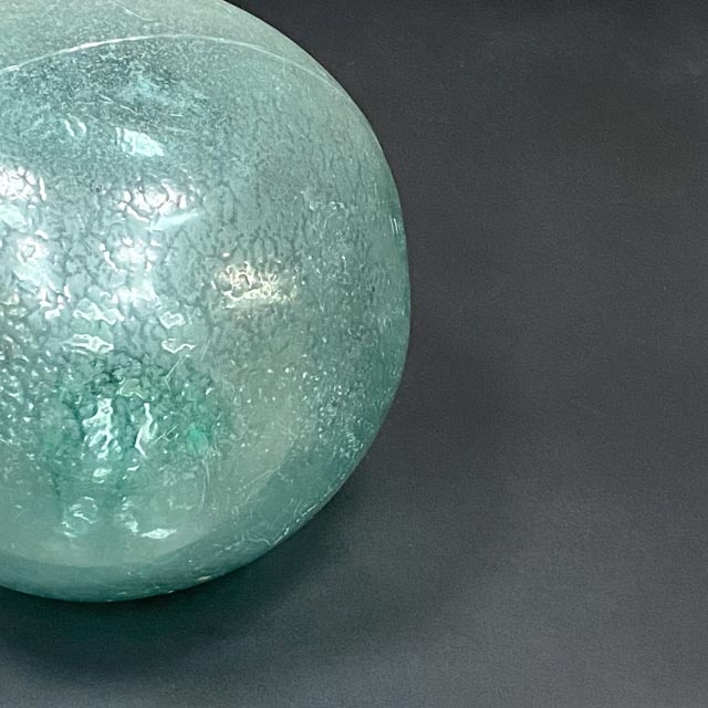 Old Chinese glass floating balls
