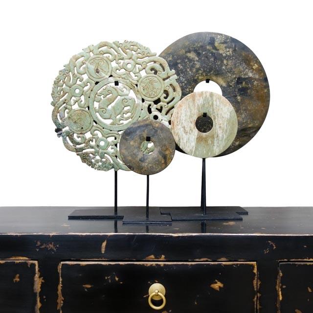 Open-work carved Bi-disc – 30cm
