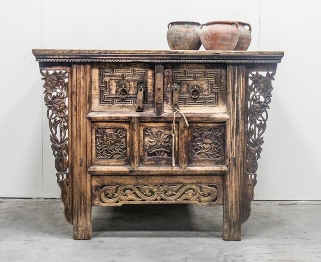 Beautiful old Shandong cabinet