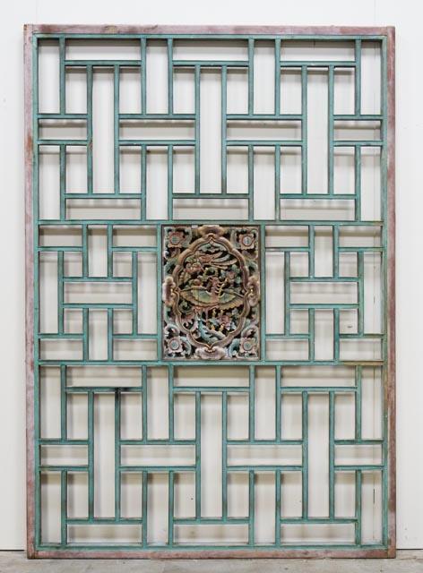 Antique Phoenix bed panel
