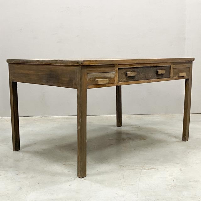 Colonial desk for two people