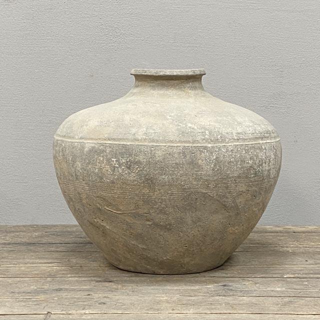 Wabi-sabi Han dynasty pot