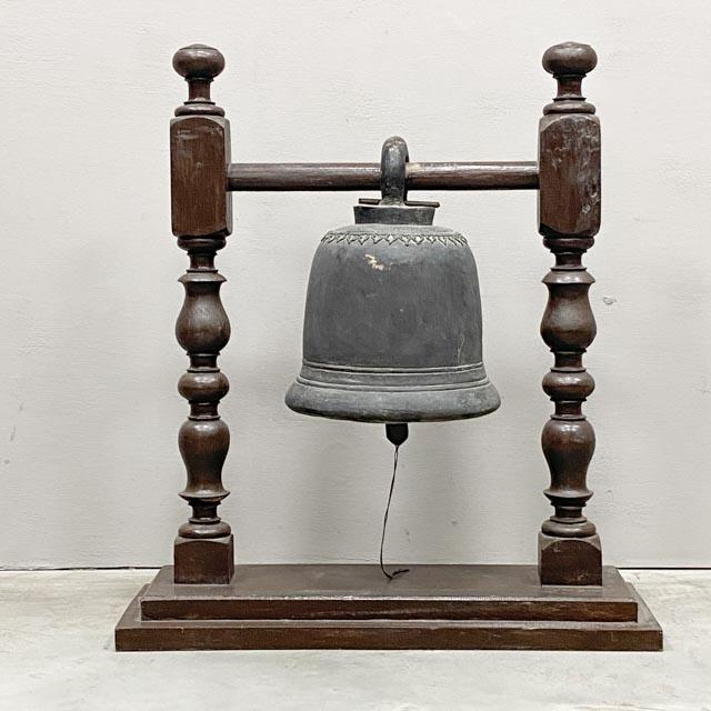 Antique bronze Thai bell