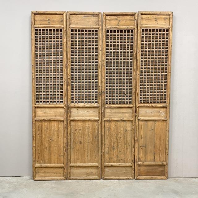 Set of 4 XL screen doors