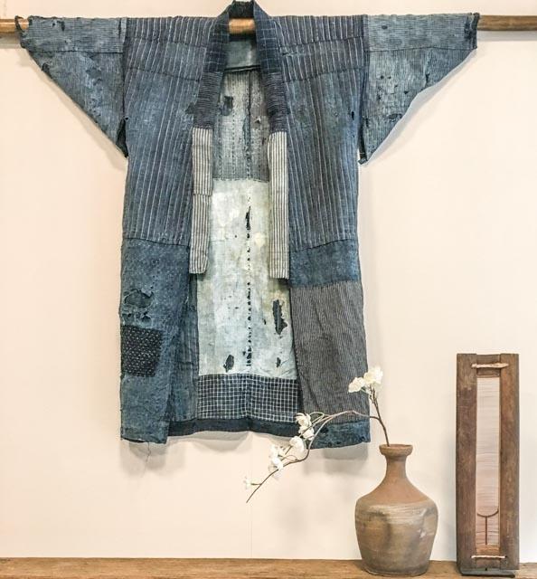 Japanese Boro kimono