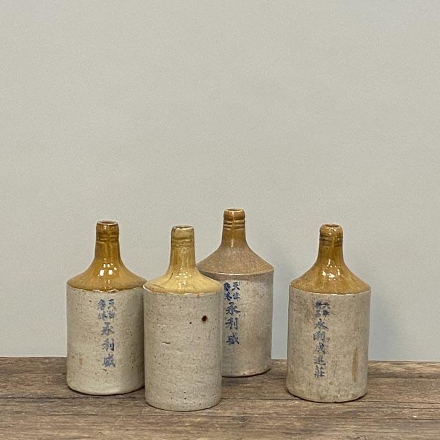 Hong Kong wine bottles
