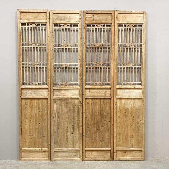 Set of 4 screen doors