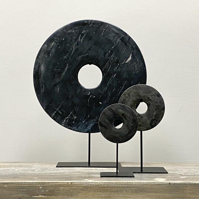 Bi disc in -Dark Grey – 40cm